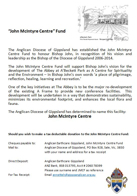 John McIntyre Centre 2014